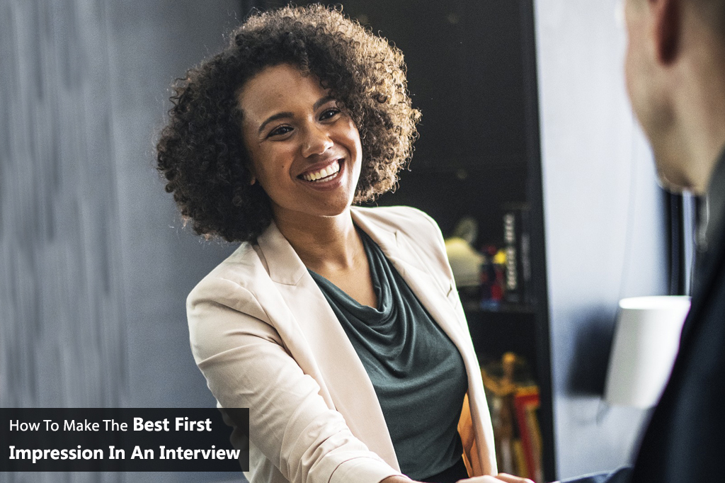 How to make the best first impression in an interview